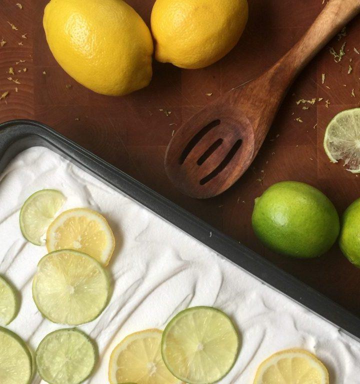 2 ingredient Lemon Cake recipe
