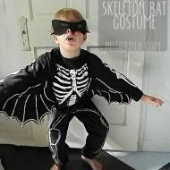 Make it: skeleton bat costume!