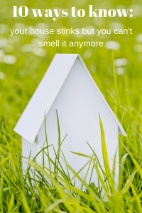 Have you gotten accustomed to the smell of your house but it stinks? 10 ways to know.