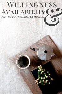 Top 5 tips for being a great host.
