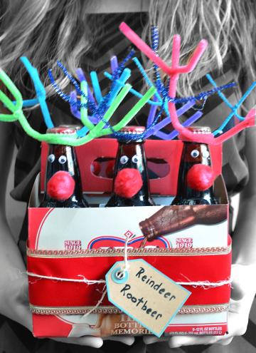 Reindeer Rootbeer – a last-minute gift idea