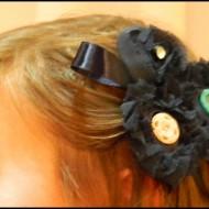 -Vintage Hair Barrettes-