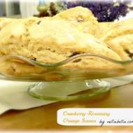 Cranberry-Rosemary-Orange Scones