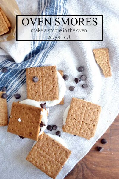 How to make smores in the oven