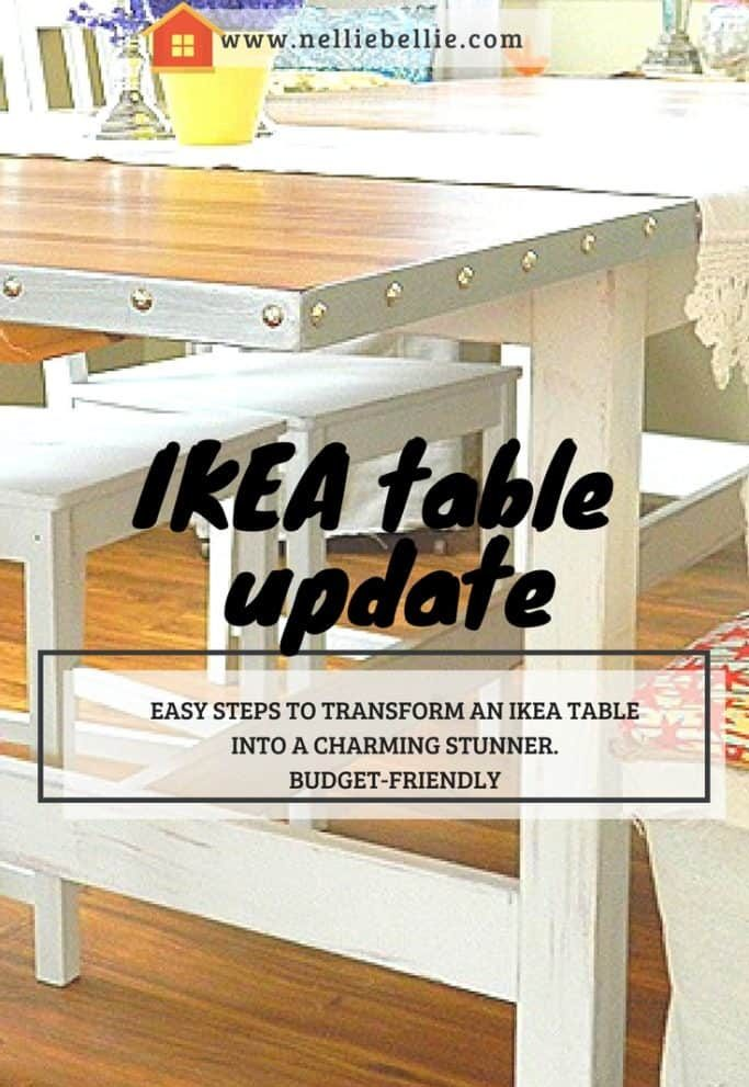 simple IKEA table update