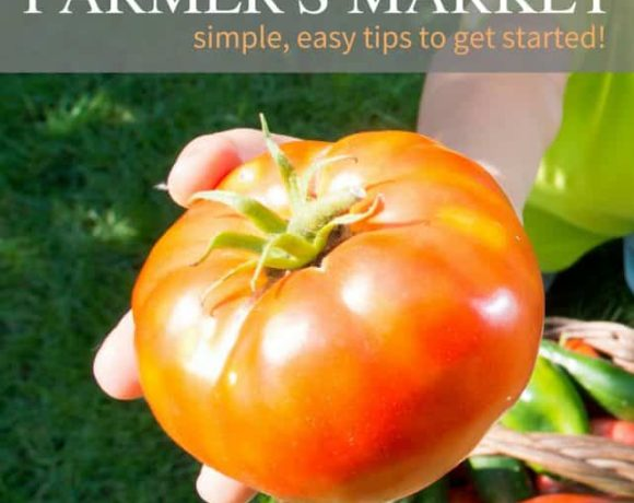 Let your kid's grow and sell at their own Farmer's Market! A great way to get kids excited about gardening and supply your kitchen with fresh produce. Simple tips to get this fun and easy summer activity off the ground and EASY to do
