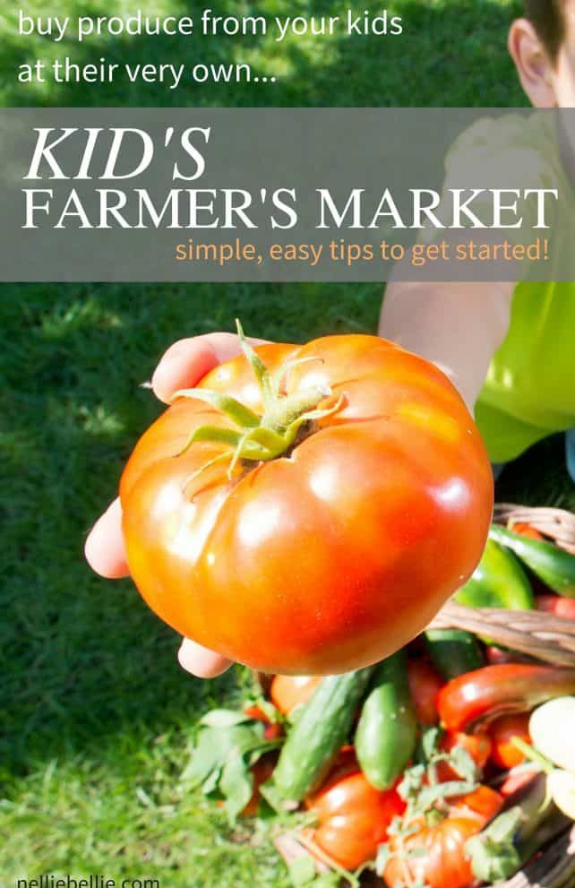 """Kid's """"Farmer's Market"""" 