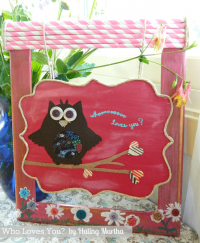 Owl Art…Who Loves You?