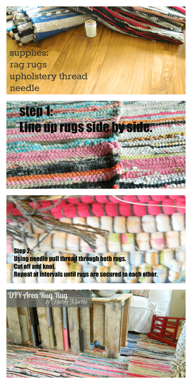 DIY Area Rug-tutorial
