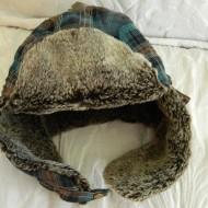 "Bloggy ""scavenger hunt"" day 3. Prize-davey crockett hat"