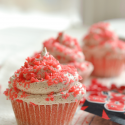 Firecracker cupcakes are fun and easy to make. Kids love these cupcakes made with red hots and pop rocks. A great patriotic cupcake for the Fourth of July