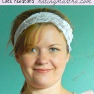 DIY Lace hairband
