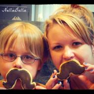 Mustache cookies!