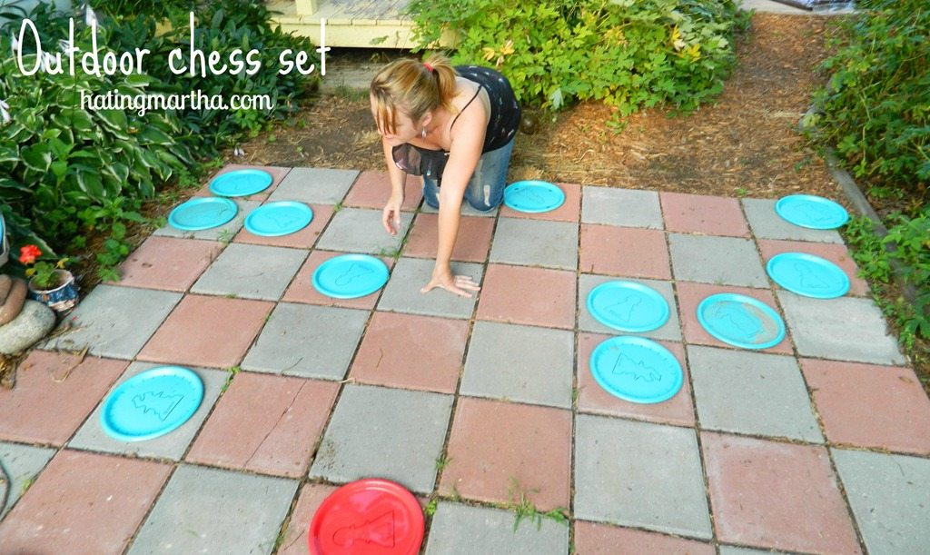 Outdoor Giant Chess Set from nelliebellie