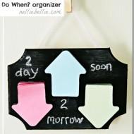 Do When? Organizer