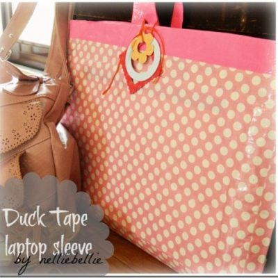DIY laptop sleeve (with mailing envelopes and Duck Tape)