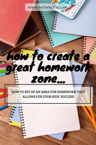 How to create a homework area that means success!