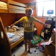 Levi wants a new room!