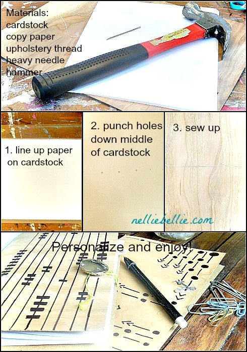 diy journal tutorial by NellieBellie
