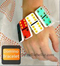 Simple steps to make a Domino Bracelet!