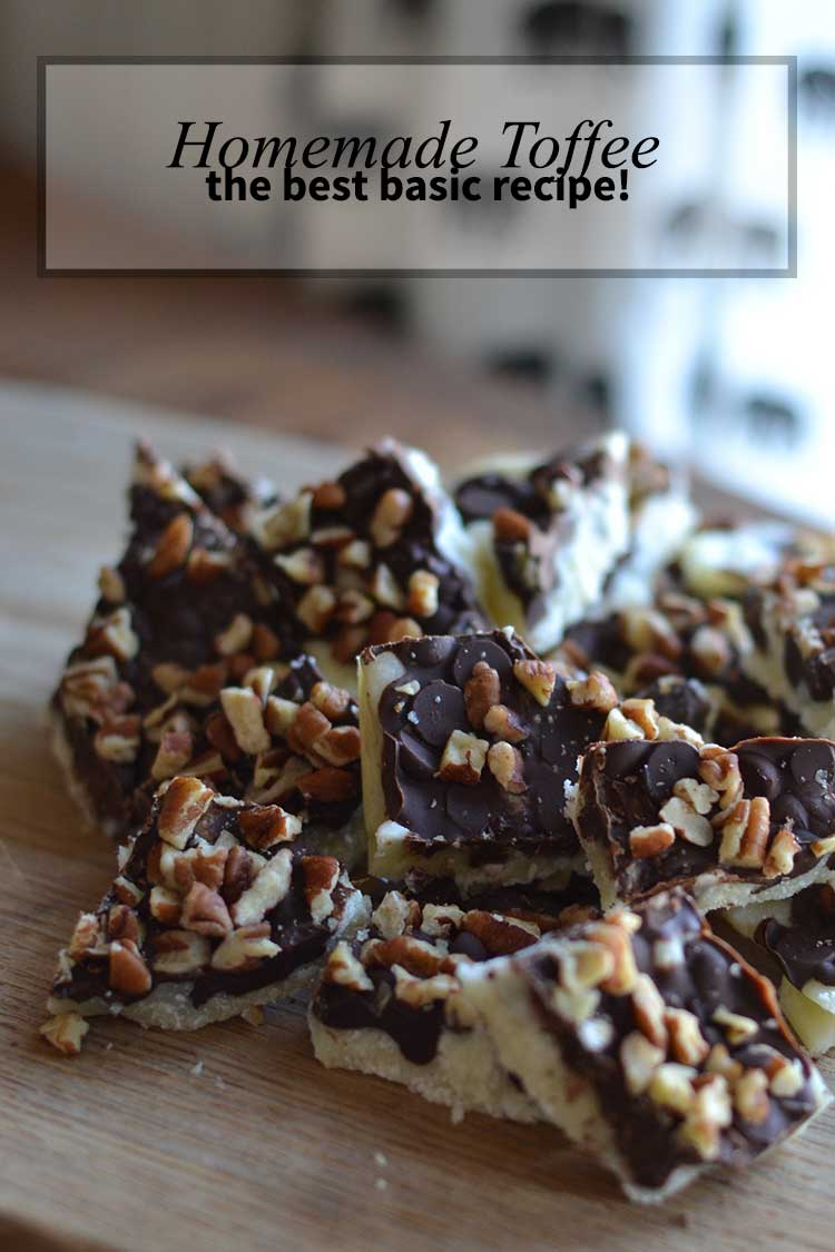 The best easiest homemade toffee recipe you will ever find! | nelliebellie.com gluten-free, candy recipe, homemade toffee, christmas recipes