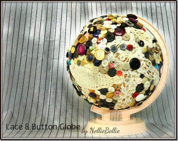 lace & button globe by nelliebellie