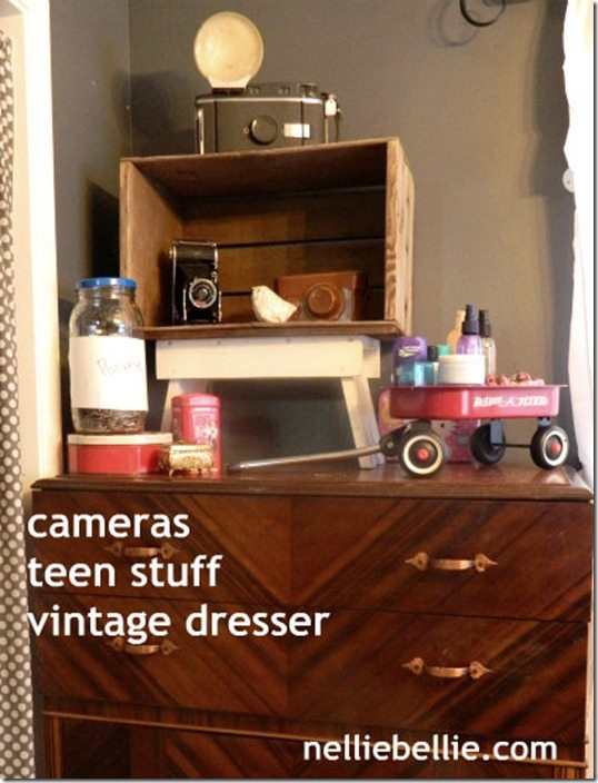 NellieBellie:teen bedroom dresser