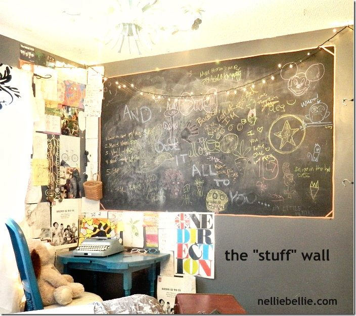 NellieBellie: teen bedroom stuff wall