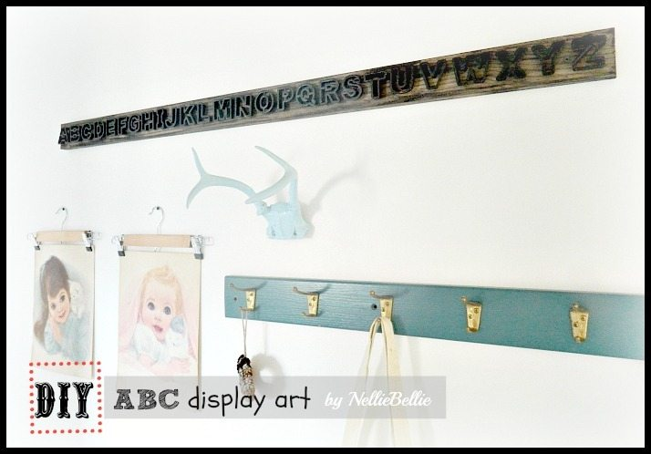 Simple steps to create ABC display art