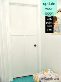 How to transform your builder grade door