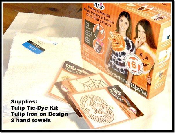 halloween towels supplies