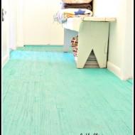 cheap flooring; lath floor
