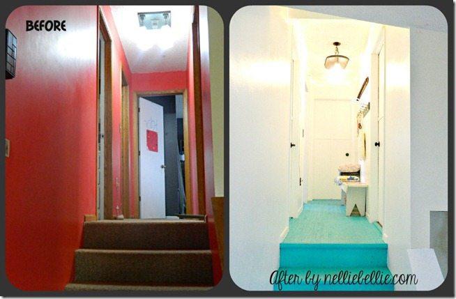 NellieBellie: hallway makeover