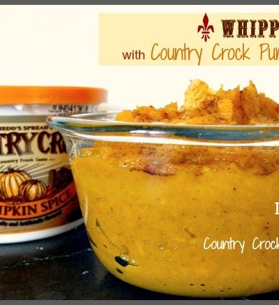 Whipped Yams featuring Country Crock. AND free fab stuff!