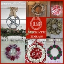 12 unique and inexpensive wreath ideas. Nelliebellie.com