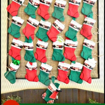 Simple steps to make an advent calendar