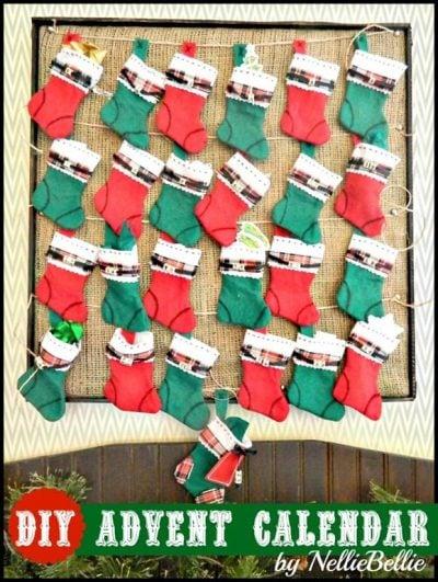 Simple steps to make an advent calendar