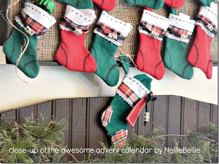 NellieBellie: DIY advent calendar for Christmas tutorial.