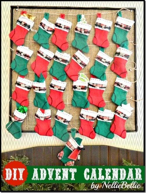 NellieBEllie: DIY advent calendar tutorial.