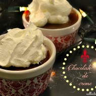 chocolate Pot de creme.