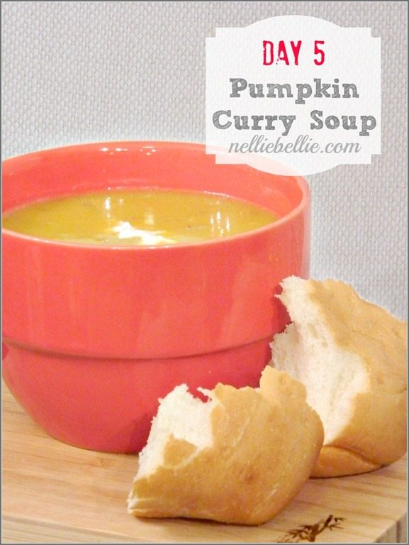 Day 5. The end. Pumpkin Curry Soup