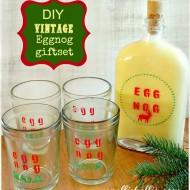 DIY egg nog giftset