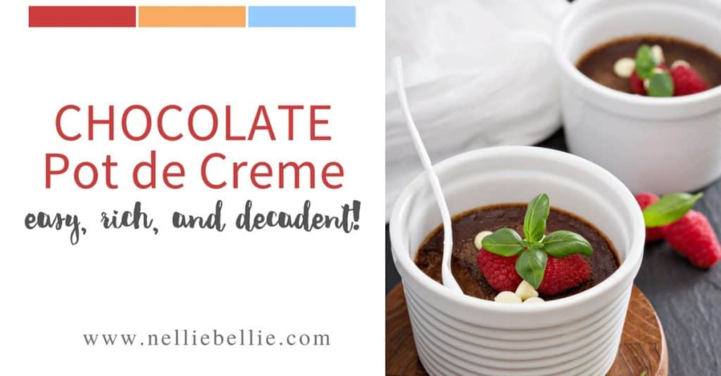 easy chocolate pot de creme recipe chocolate pots de creme