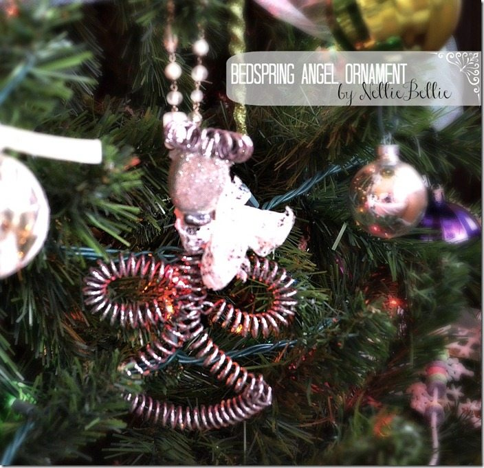 bedspring angel ornament by NellieBellie