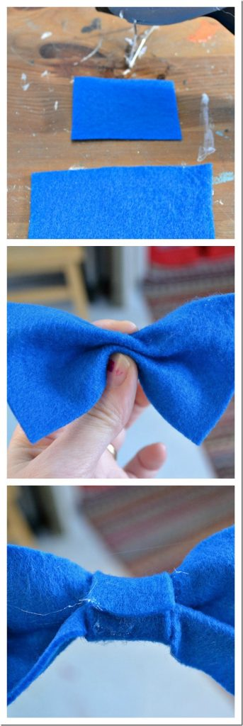felt bow tutorial: by NellieBellie