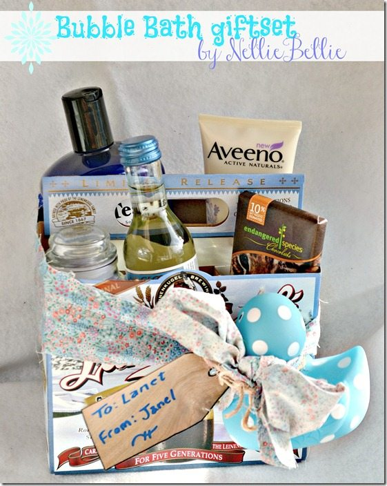 bubble bath giftset by NellieBellie