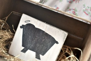 diy rustic nativity by NellieBellie. An easy tutorial for this darling project.