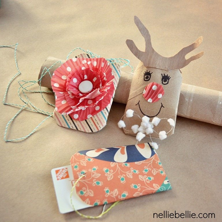 Crafts Made From Paper Towel Rolls: Easy Diy Gift Card Holders From Toilet Paper Rolls, A