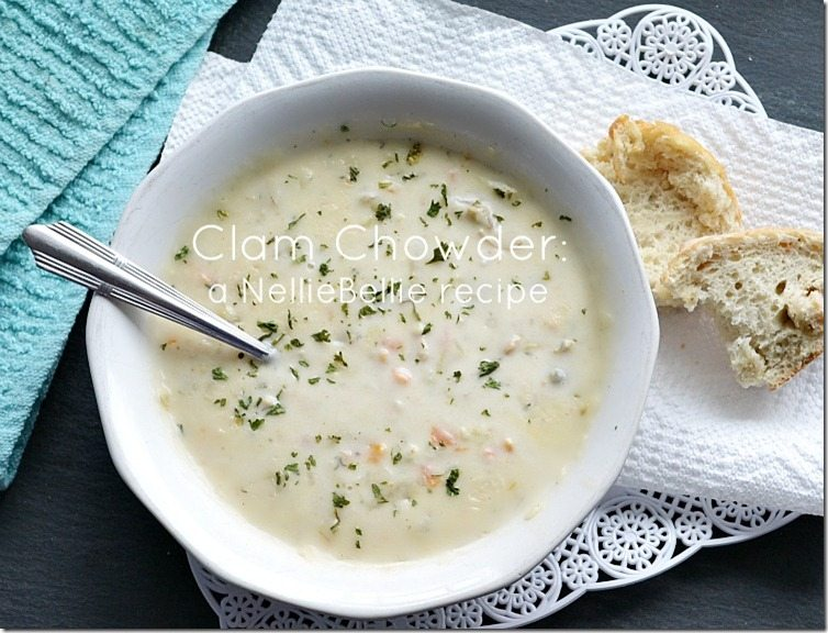 Delicious and easy clam chowder | clam chowder recipe #clamchowder #soup