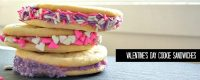 valentines day cookie sandwiches